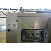 China Automatic Beer Canning Machine , Commercial Canning Equipment Multi Head on sale