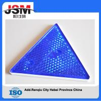 Quality Top sale truck triangle colorful plastic warning reflectors for sale