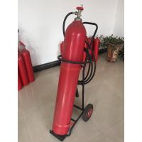 Quality Portable Co2 Fire Extinguisher , 10kg Trolley Type Fire Extinguisher For Supermarkets for sale