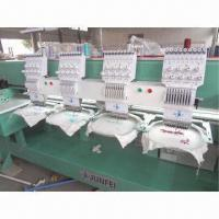 China 904 cap/garments/T-shirts making embroidery machine with speed of 1000rpm on sale