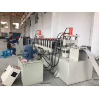Quality 12 Stations PLC Control Cable Tray Roll Forming Machine 10-15m / Min Speed for sale