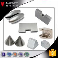 Magnetized through length block N52 neodymium magnet sale