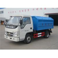 Forland 3m3 Rubbish Removal Truck , Hydraulic Arm Waste Garbage Truck
