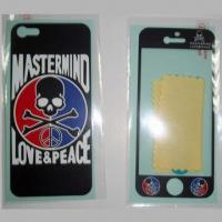 Quality Silk Printing Screen Protectors for iPhone 4, 5, Film Skin, Printed, Phone Sticker for sale