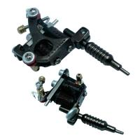 Quality shader / Liner Permanent mini tattoo machine Guns with 10 wrap for sale