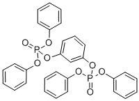 Quality Yellow Liquid RDP / Tetraphenyl Resorcinol Bis Diphenyl Phosphate of CAS No.57583-54-7 for sale