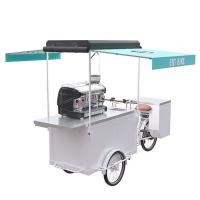 China Customized Mobile Coffee Bike Convenient Operation With Large Inside Capacity on sale