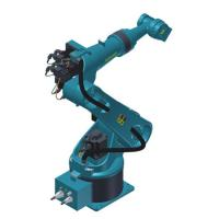 China 1.1Kw Automatic Robotic Arm , Ground Mounted Installation Welding Industrial Robotic Arm on sale