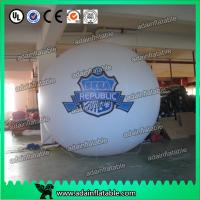 Quality Big PVC Red Custom Inflating Helium Balloon Show Air Floating Ball for sale