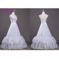 Quality 4 Rings Underskirt Petticoat Wedding Gown Accessories For Wedding Dress Under Wear for sale