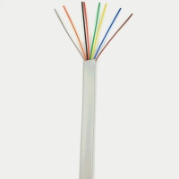 Quality PE Insulation 26AWG 28AWG CAT6A Ethernet Cable 8 Core 0.40mm Strand for sale