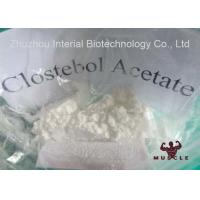 Clostebol Acetate Strongest Testosterone Steroid For Mass And Strength CAS 855-19-6