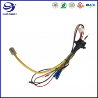 Quality TVR ring terminal add Middle LED IP67 Connector Wire Harness for Tail Light for sale