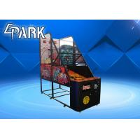 Quality Normal Coin Operated Arcade Basketball Game Machine Metal Cabinet Firm And Durable for sale
