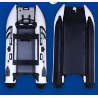 China 9.9HP High Racing dinghy leisure catamaran inflatable boat 3.3m full inflatable mat on sale