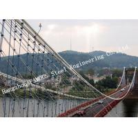 Quality Portable Steel Bailey Suspension Structural Bridge for Public Transportation for sale