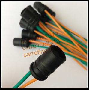 Quality T10 T15 Rubber Socket Car LED Bulb Holder Adapter Cable W5W 194 168 LED socket base for sale