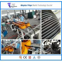 Quality 20M One Minute High Speed PP PE PVC PA Single Wall Flexible Corrugated Pipe Manufacturing Machine Making Machine for sale