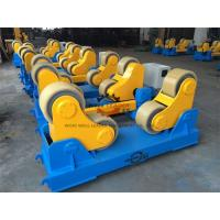Buy 20 Ton Rotary Capacity Pipe Welding Rollers Optional Wireless Remote control at wholesale prices