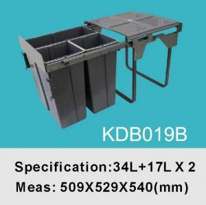 Quality Trash Bin Kitchen Bin Cabinet Bin Garbage Bin Waste Bin KDB019B for sale