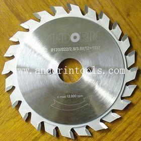 Quality High Quality Adjustable Scoring TCT Circular Saw Blades for sale