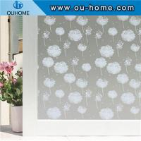 China H834 3D Stained Privacy Static Home decorative film on sale