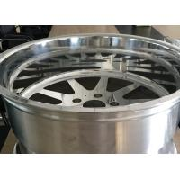 20*12 off road forged wheels for trucks with polished face