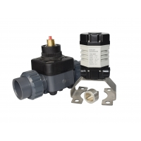 Quality Multi Turn electric actuator DC24V with super mini volume and 18Nm/5r/min toruqe for sale