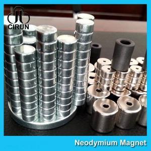 Custom Size Industrial Neodymium Magnets , AC Induction Gearmotors Magnet