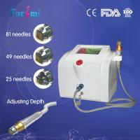 Quality fractional micro-needling rf wrinkle scars removal machine for sale