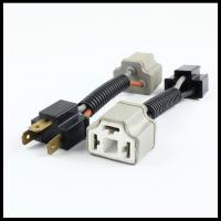 Quality H4 9003 HB2 Ceramic Male Female Wiring harness H4 EXTENDED CONNECTOR/PLUG/ADAPTOR/SOCKET for sale