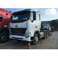 Quality Sinotruk HOWO A7 Prime Mover Truck Euro 2 Emission 6x4 Driving Type for sale