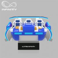 China Multi - Player 9D Virtual Reality Cinema Motion Simulator Logo Customization on sale