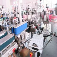 CE Square Bottle Labeling Machine Automated Label Applicator 5000-8000 B / H