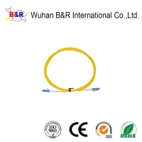 Quality LC Single Mode 3.0mm 3m Fiber Optic Patch Cord for sale