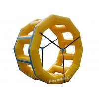 Quality 2.4m High 2.2m Diameter PVC Tarpaulin Inflatable Water Roller for sale
