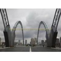 China Heavy Duty Bailey Structural Steel Bridge Strong Quakeproof Steel Arch Bridge on sale