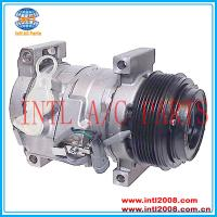 China Denso 10S17F ac a/c compressor for 2003-2010 GMC Sierra 1500 2500 3500 4.3L 6.6L /Chevrolet Silverado Express 1500 2500 on sale