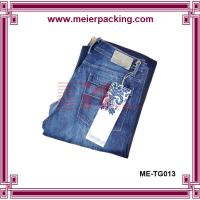 China clothing paper hangtags for jeans, Paper Clothing Hangtag/Hangtag for Clothing ME-TG013 on sale