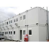 Quality 40 Ft Shipping Container Steel Structure Villa Office Double Storey In White for sale