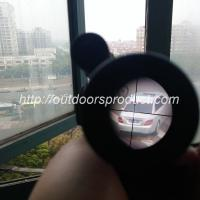 Quality 2.5-10X40E Riflescope R/G Illuminated with Green Laser for sale