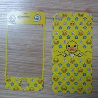 Quality Printed/Phone Stickers/Film Skin Screen Protectors for iPhone 4/5, CMYK Printing for sale