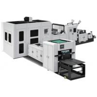 China Primary Shaping Non Woven Fabric Production Line Box Bag Making Machine ZX-LT500 on sale