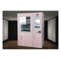Quality 22 Inch Touch Screen Red Wine Vending Machine , Fridge Vending Machine Automatic Selling for sale