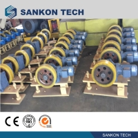 Quality ISO9001 CE Autoclave Equipment Inclined Pulley With Friction for sale