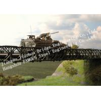 Quality Compact 200-type Single Span Military Bailey Bridge Quickly Installation for Army for sale