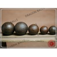 Buy cheap Mining Cement Forged Grinding Balls 40mm 60mm B2 Material Wear Resistant from wholesalers