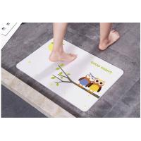 Quality diatomite absorbent pad Changbai Mountain diatom mud anti-skid quick-drying painted foot pad can be customized for sale