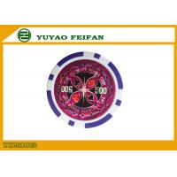 11.5g Purple Strips ABS Poker Chips Luxury Poker Chips Value 500