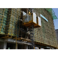 Quality Rack And Pinion Mechanism VFC Motor Constrol 3200Kg Construction Site Elevator for sale